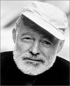 Ernest Hemingway: Write drunk, edit sober
