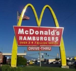 McDonalds social proof
