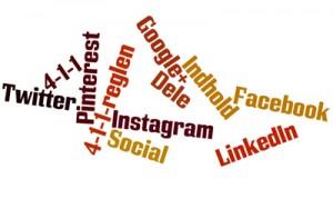 Så ofte skal du dele dit eget indhold på sociale medier