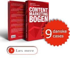 Klik her for at læse mere om Content Marketing Bogen