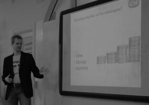 Joakim Ditlev fortæller om forretningsmål i content marketing