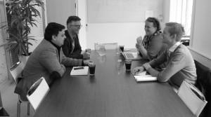 Møde om content marketing