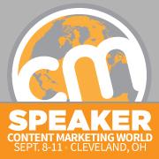 Joakim Ditlev speaker på Content Marketing World 2015