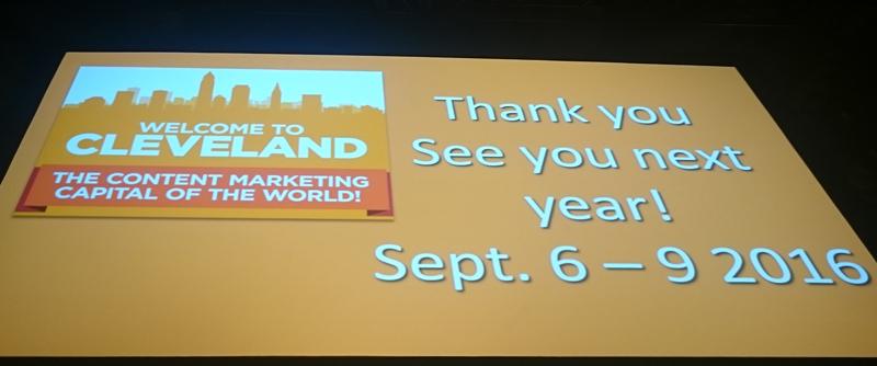 Datoen for Content Marketing World 2016 er klar