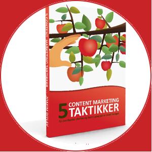 5 Content marketing taktikker ebog