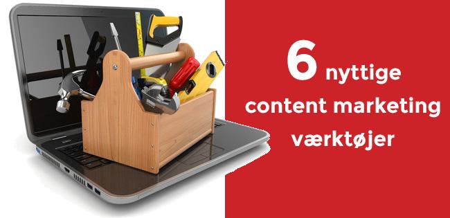Nyttige content marketing værktøjer