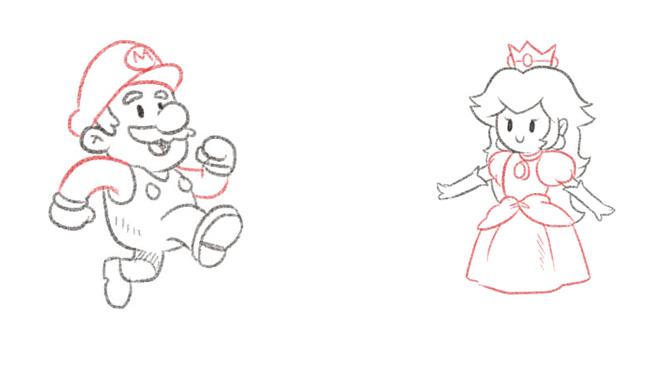 Hvis Mario er kunden, er kunderejsens mål at redde prinsessen