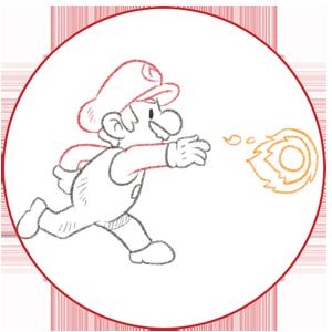 Dine produkter gør din kunde til Super Mario