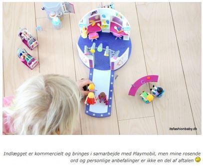 Eksempel på sponsoreret indlæg på itsfashionbaby.dk