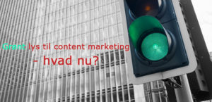 Grønt lys - content marketing