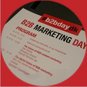 B2B Marketing Day 2016