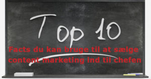 10 content marketing facts