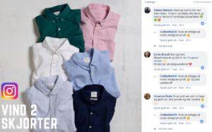 Facebook konkurrence fra Cottonfield